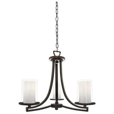 Matthies 3-Light Candle-Style Chandelier Fixture Finish: Oil Rubbed Bronze