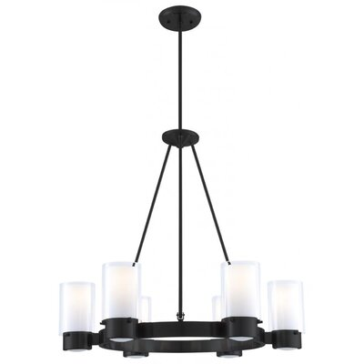 Matthies 6-Light Candle-Style Chandelier Fixture Finish: Oil Rubbed Bronze