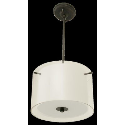 Matthies 3-Light Drum Pendant Finish: Oil Rubbed Bronze