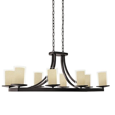 Matthies 8-Light Candle-Style Chandelier Fixture Finish: Oil Rubbed Bronze