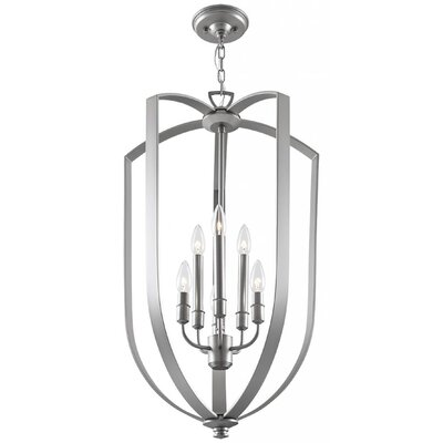Hust 6-Light Foyer Pendant Finish: Chrome