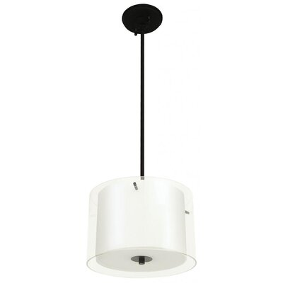 Matthies 3-Light Drum Pendant Finish: Graphite