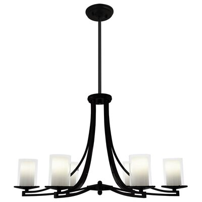 Matthies 6-Light Candle-Style Chandelier