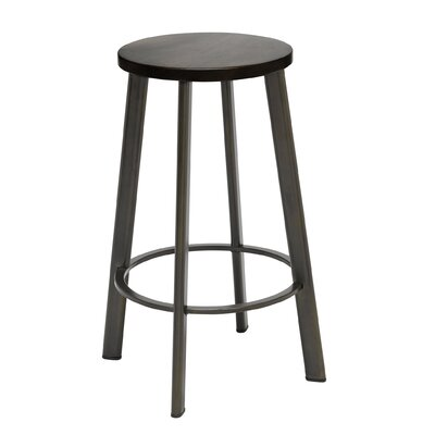 Chalmers 25 Bar Stool Color: Espresso