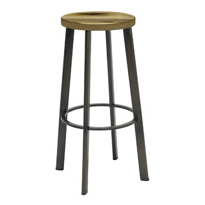 Chalmers 30 Bar Stool Color: Natural
