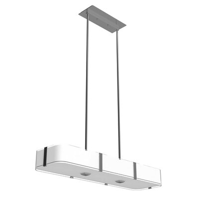 Stallman 6-Light Kitchen Island Pendant Finish: Satin Nickel