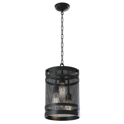 Gullo 3-Light Foyer Pendant Finish: Graphite