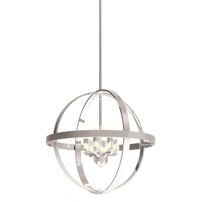 Millsap 6-Light Globe Pendant Finish: Chrome