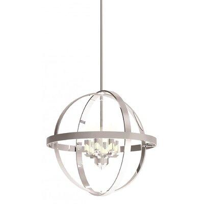 Millsap 6-Light Globe Pendant Finish: Chrome