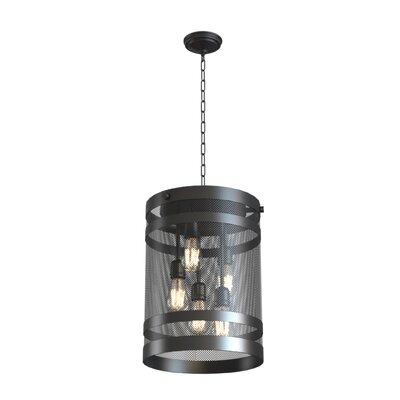 Gullo 5-Light Foyer Pendant Finish: Graphite