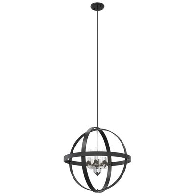 Millsap 6-Light Globe Pendant Finish: Graphite
