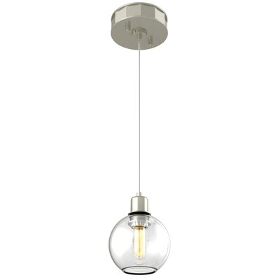 Galeana 1-Light Globe Pendant