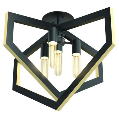 Cullins 4-Light Semi Flush Mount