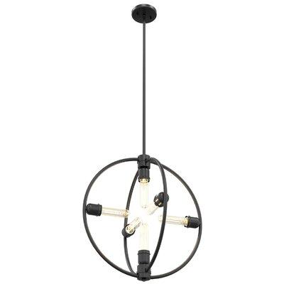 Gumbs 6-Light Globe Pendant Size: 20.5 H x 19.25 W x 19.25 D