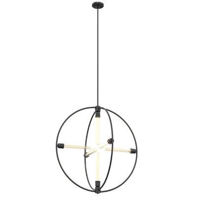 Gumbs 6-Light Globe Pendant Size: 32.5 H x 31.25 W x 31.25 D
