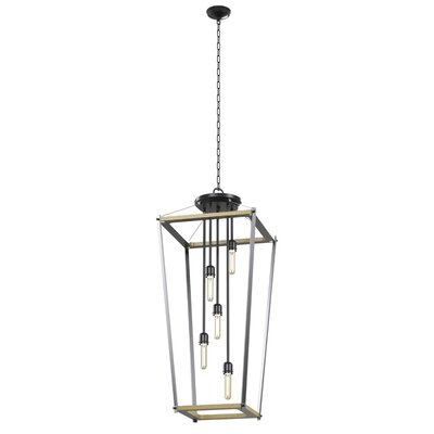 Gumm Square 5-Light Foyer Pendant