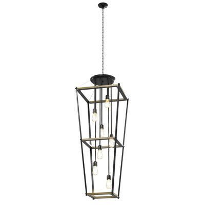 Gumm Square 7-Light Foyer Pendant