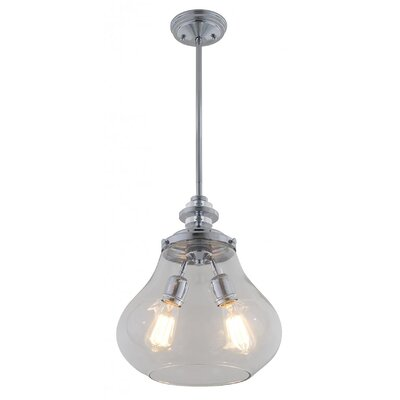 Engen 2-Light Foyer Pendant
