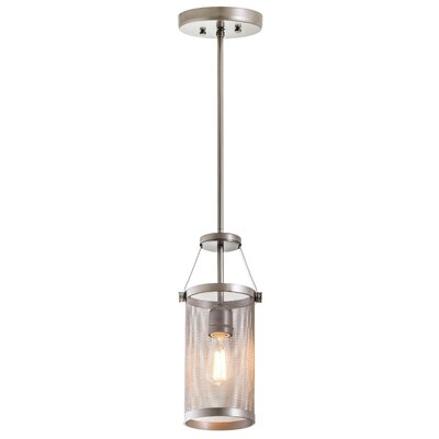 Gullo 1-Light Mini Pendant Finish: Champagne