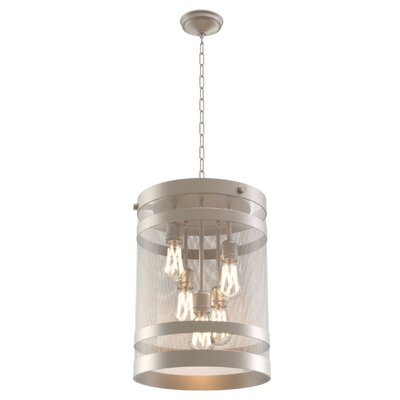 Gullo 5-Light Foyer Pendant Finish: Champagne
