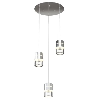 Staats 3-Light Cluster Pendant