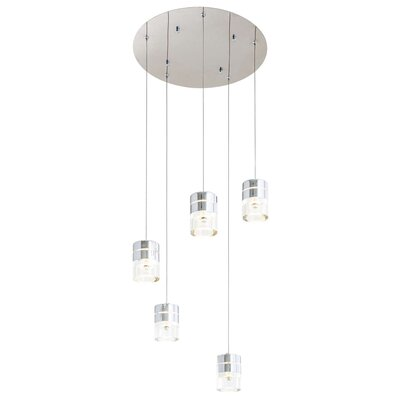 Staats 5-Light Cluster Pendant