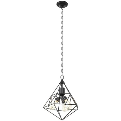 Lockard 3-Light Foyer Pendant