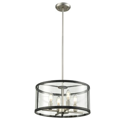 Cullman 4-Light Drum Pendant
