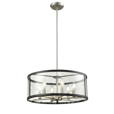 Cullman 6-Light Drum Pendant