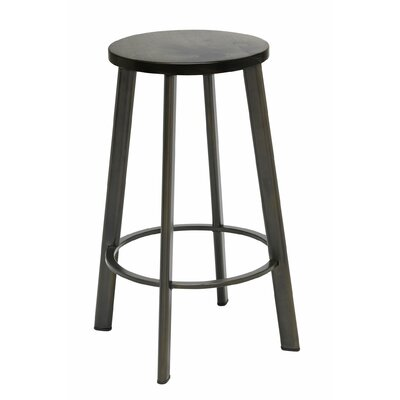 Chalmers 25 Bar Stool Color: Barnwood