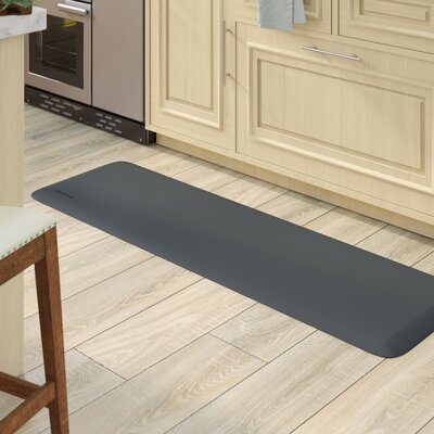 Kadalynn Kitchen Mat Mat Size: Rectangle 66 x 20, Color: Gray