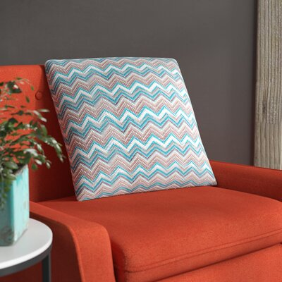 Hays Toss Throw Pillow Color: Blue