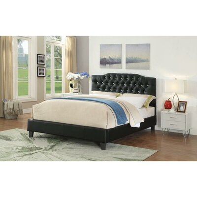 Messmer Queen Upholstered Platform Bed