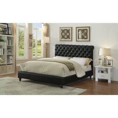 Huffine Queen Upholstered Sleigh Bed