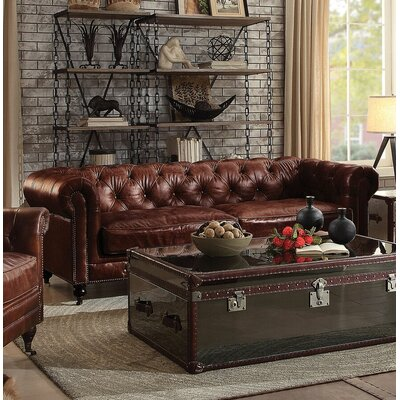 Drage Leather Sofa