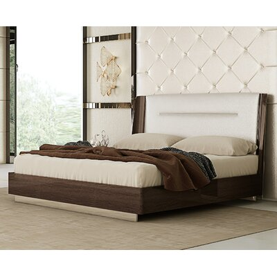 Sigel Upholstered Platform Bed Size: King