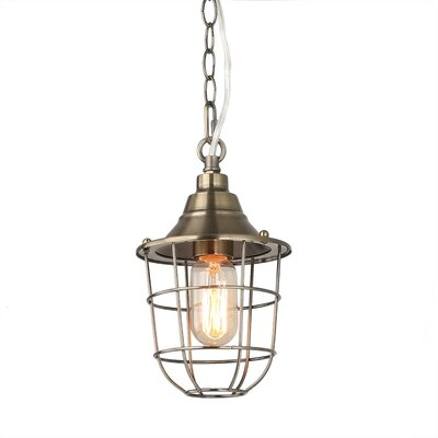 Everitt 1-Light Lantern Pendant