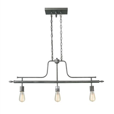 Hadnot 3-Light Kitchen Island Pendant