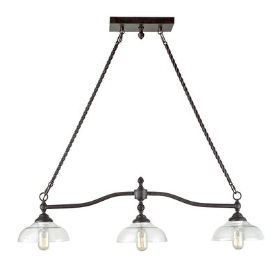 Castille 3-Light Kitchen Island Pendant