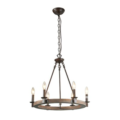 Flavio 6-Light Candle-Style Chandelier
