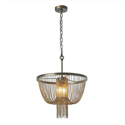 Hagedorn Hall Draping Chains 2-Light Mini Chandelier