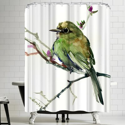 Suren Nersisyan Flycatcher Shower Curtain