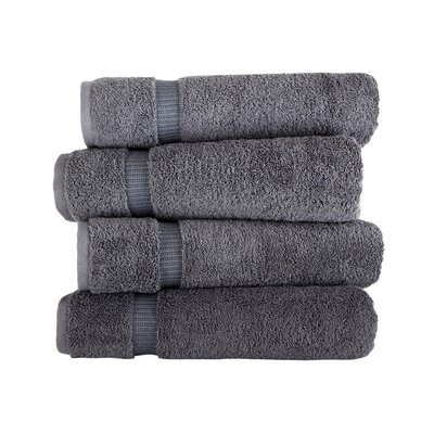 Armel 4 Piece Bath Towel Set Color: Gray