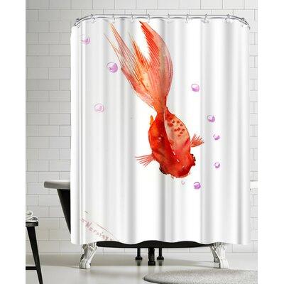 Suren Nersisyan Goldfish Shower Curtain