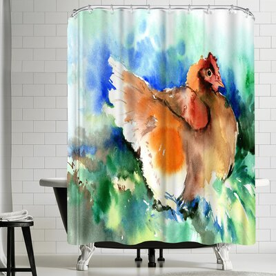 Suren Nersisyan Hen I Shower Curtain