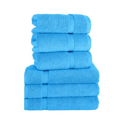 Agathon Hand Towel Color: Aqua