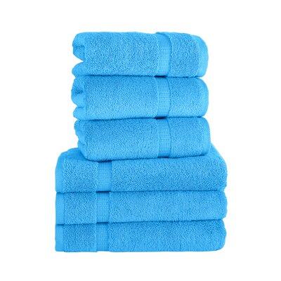 Agathon Hand Towel Color: Aqua