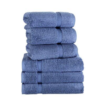 Agathon Hand Towel Color: Blue