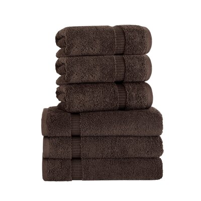 Agathon Hand Towel Color: Chocolate