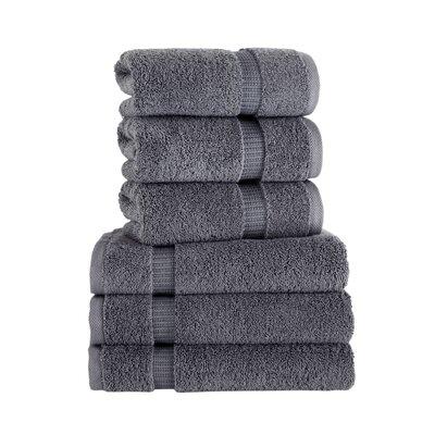 Agathon Hand Towel Color: Gray